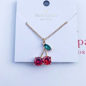 NWT Authentic Kate Spade Cherry 🍒 Necklace